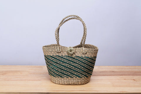 Mini Straw Tote Bag