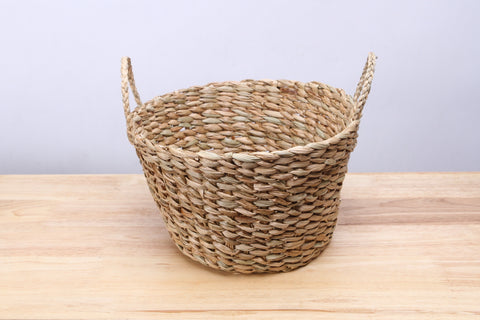 Small Straw Wicker Basket