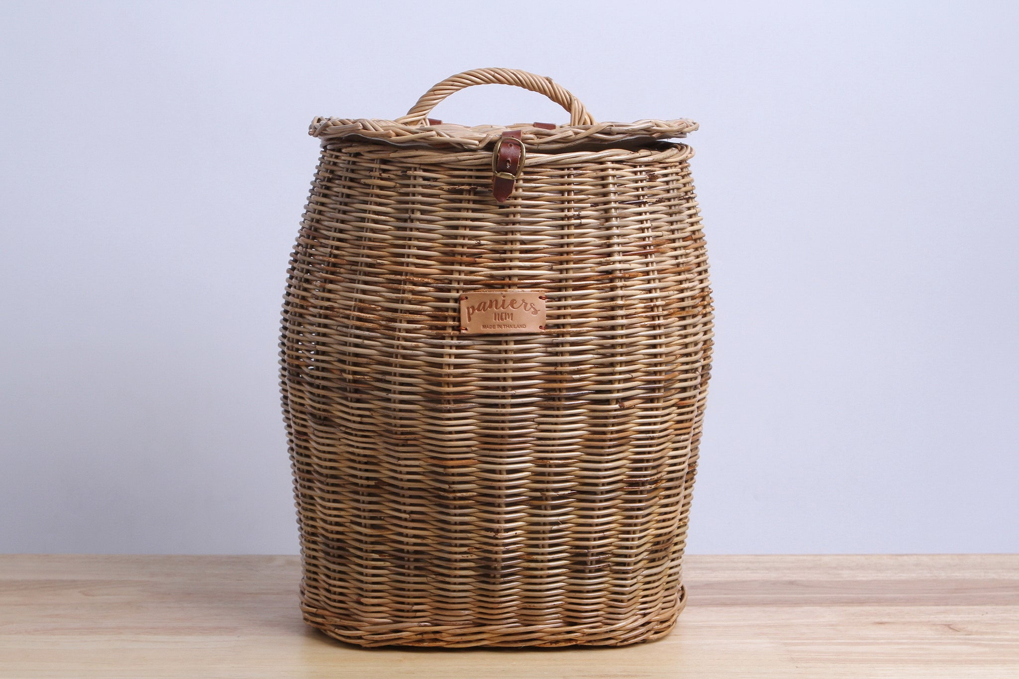 Paniers Nem  Rattan Wicker Backpack