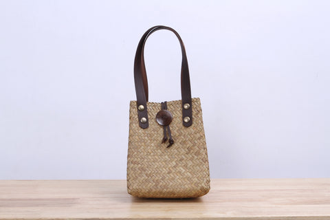 Mini Wicker Tote bag