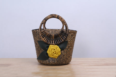 Shappybag - Sunsprite krajood wicker handbag