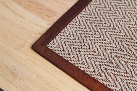 Place mat (Red Brown)