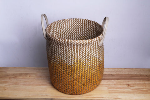 Varni - Brown Clothes Basket