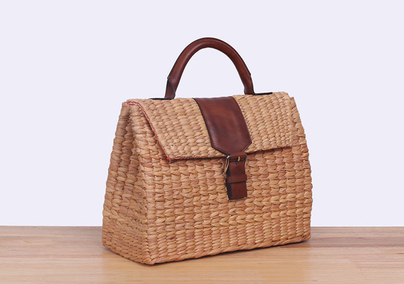 <ly-as-9507010>VIPHA WICKER BAG (Brown)</ly-as-9507010>