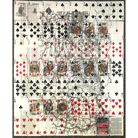 Bicycle 1026623 Escape Map Playing Cards,