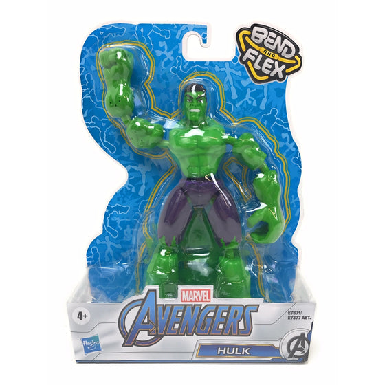 Avengers E78715x0 Marvel Flex And Bend Hulk,