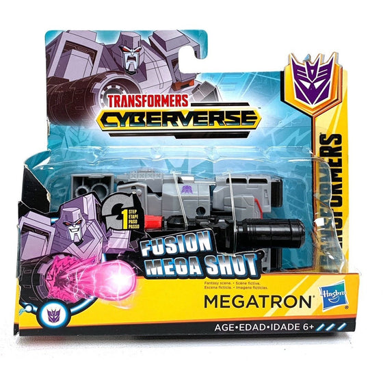 Transformers E3643AS20 Cyberverse Action Attackers: 1-Step Changer Megatron Fusion Mega Shot Action Figure Toy,
