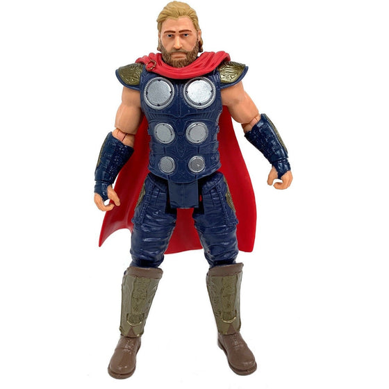 Avengers E98685x0 Marvel Gamerverse 6-Inch Thor Action Figure Toy, Iconic Armor Skin, Ages 4 And Up,