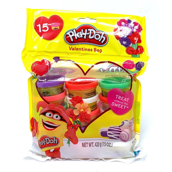 Play-Doh A1620 15 Pc Valentines Bag,