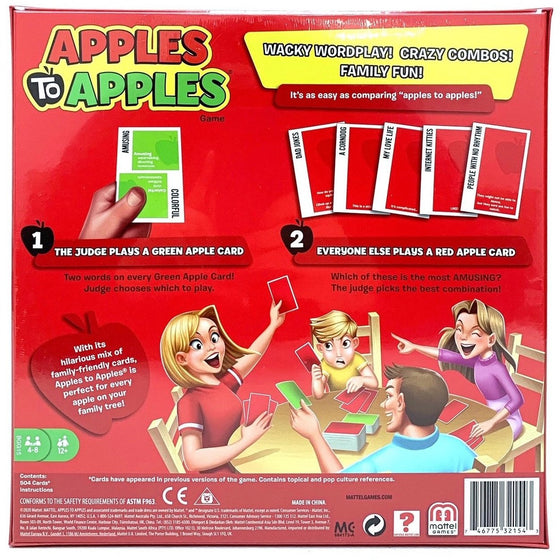 Mattel Bgg15 Apples To Apples Game Board, Other