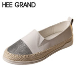 Glitter Loafers Summer Slip On Flats Fisherman Shoes Woman Casual Spring Women-iuly.com