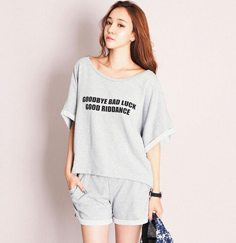 Home Clothes For Women Summer Shorts Sets Summer Style Pajamas Femme P-iuly.com