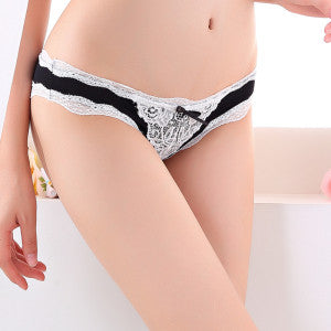 Lace Women Panties Lady'S Underwear Briefs Plus Size G String Thongs-iuly.com