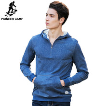 Load image into Gallery viewer, Camp 100% Cotton Hoodies Men Clothing Casual Male Hoody Zipper Long Sleeved-iuly.com