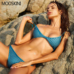 Design Mesh Bikini Set Swimsuit Women Beach Bathing Suit Push Up Brazilian Biquini-iuly.com