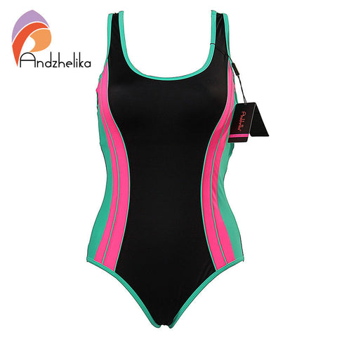 Swimwear Sport Suits One Piece Swimsuit Women Summer Swimsuit Padding Bodysuit-iuly.com