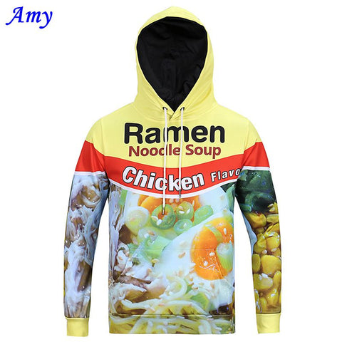 Autumn And Winter Funny Eggs Chicken Hooded Sweatshirt Men Hoodies Long Sleeve-iuly.com