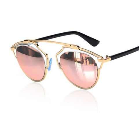 Classic Superstar Cat Eye Mirror Celebrity Sunglasses Rihanna Women Or Men-iuly.com