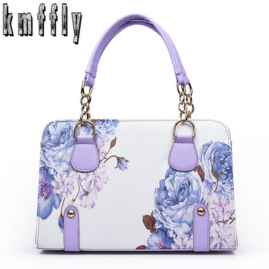 Women Classic Chains Tote Bags Print Bag For Lady'S Bolsas Feminina Famous-iuly.com