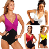 4Xl Ladies One Piece Swimwear Women Monokini Bandage Halter Padded Bikini Bathing-iuly.com