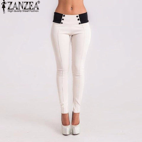 Autumn Vintage Slim Women Pants Sexy Casual Pants Feet Bodycon Skinny Pencil-iuly.com
