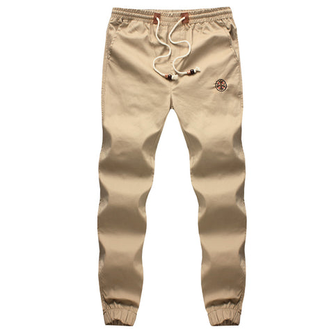 Fashion Drawstring Men Pants Cotton Mens Joggers Casual Sweatpants Men'S-iuly.com