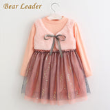 Girls Dress Winter Dresses Children Clothing Princess Dress Pink Long Sleeve-iuly.com