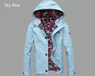 Men'S Jacket Spring Men Jacket With Hood Fashion Jacket Casual Spring & Autumn-iuly.com