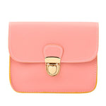 Casual Small Leather Flap Handbags Hotsale Ladies Party Purse Clutches-iuly.com