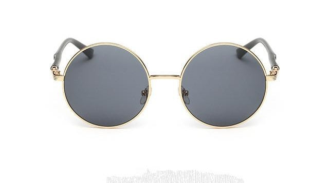 Oversized Retro Round Sunglasses Women Vintage Sun Glasses Female Eyewear S-iuly.com