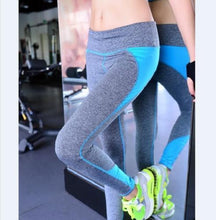 Load image into Gallery viewer, 4 Colors S-Xl Women Fashion Leggings Spandex Patchwork Push Up Hip Leggings-iuly.com