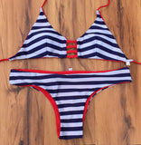 Bikini Set Beach Swimwear Printed Swimsuit Women Swimwear Bathing Suit Bikini-iuly.com