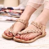 Flower Women Sandals Women Flat Sandals Summer Shoes Ladies Sandals-iuly.com