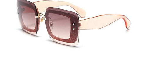 Cat Eye Sunglasses Women Square Big Frame Vintage Sun Glasses De Sol Femini-iuly.com