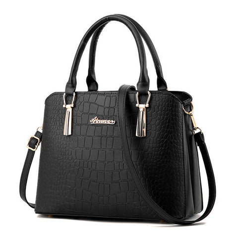 Alligator Pu Leather Bag Ladies Crocodile Pattern Women Messenger Bags-iuly.com