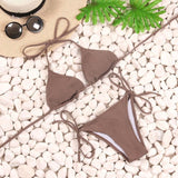 Bikini Bandage Micro Brazilian Bikini Set Push Up Swimwear Women Swimsuit Bathing-iuly.com