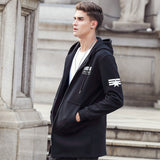 Camp Autumn Winter Long Hoodie Hoodies Men Clothing Fleece Warm Male Sweatshirts-iuly.com