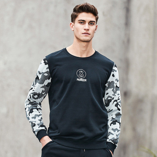 Camp Spring Hoodies Men Clothing Patchwork Camouflage Sweatshirt Male Top Tracksuit-iuly.com