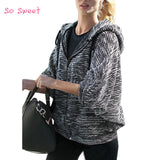 Jackets Women Loose Short Jacket Batwing Sleeve All Match Cardi-iuly.com