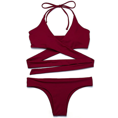 Bikini Swimwear Women Swimsuit Beach Wear Bathing Suit Brazilian Bikini Set-iuly.com