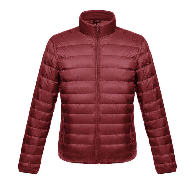 Autumn Winter Down Coat 90% White Duck Down Parkas For Men Male Jacket Ultra-iuly.com