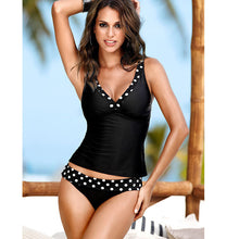 Load image into Gallery viewer, Bikinis Women Swimwear Plus Size Biquini Two Piece Swimsuit Tankini Brazilian-iuly.com