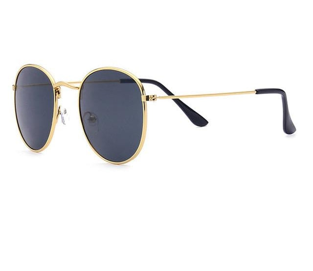 Retro Round Sunglasses Women Sun Glasses For Men Alloy Mirror Sunglasses Ra-iuly.com