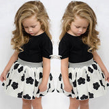 Summer Style Girls Clothing Set Baby Girl'S Clothes Sets Cartoon Flower Children-iuly.com