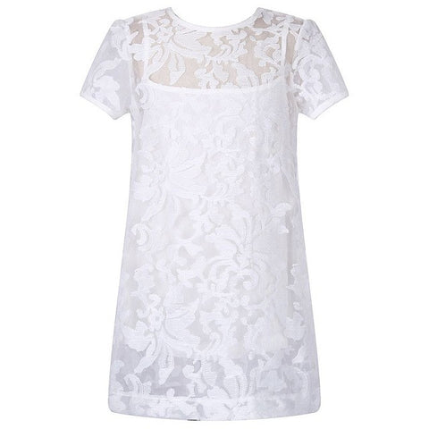 Girl Dress Summer Princess Dress Lace Robe Reine Des Kids Wedding Dresses-iuly.com