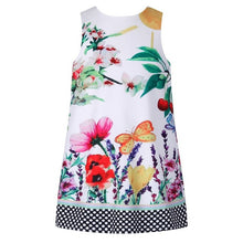 Load image into Gallery viewer, Girls Summer Dress With Cherry Flower Printed Disfraz Infantil Baby Girl-iuly.com