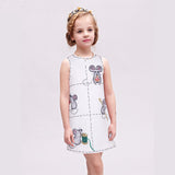 Princess Costume For Girls Dress Cotton Kids Dresses Children Clothing-iuly.com