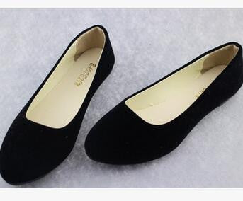 A21 Big Size Spring Pointed Shoes Women Flat Shallow Mouth Candy-Colored Women'S-iuly.com