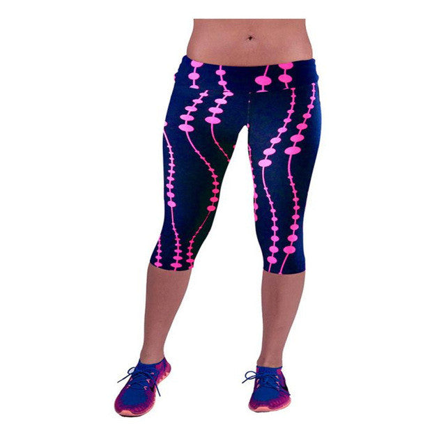 Durable Fashion Leggings Women Waist Workout Fitness Pants Sweat Pants Printed-iuly.com