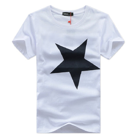 Men T-Shirts Plus Size Tee Shirt Homme Summer Short Sleeve Men'S T Shirts-iuly.com